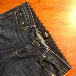PAIGE Skyline' Ankle Length Peg Skinny Jeans